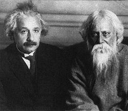 Einstein withTagore Berlin-1930.jpg